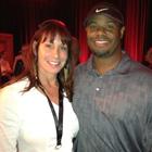 with 22-year MLB veteran outfielder, Ken Griffey, Jr.