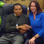 with Heavyweight Boxing Champion Muhammad Ali